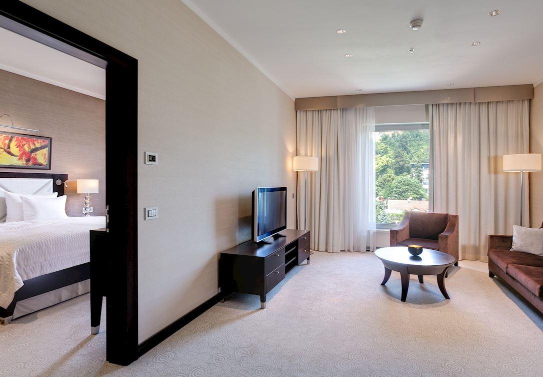 Deluxe apartmán v Grand Hoteli River Park Bratislava